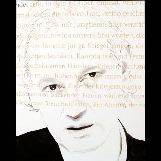 ASSANGE 1 / 2011 / Oil on canvas / 160 x 200 cm