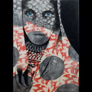 BLUE EYES / 2012 / Oil on canvas / 100 x 140 cm