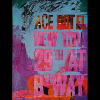 ACE HOTEL / 2013 / Oil on canvas / 120 x 160 cm
