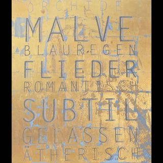 Malve / 2020 / Acryl and oil on canvas / 120 x 140 cm