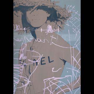 CHANEL / 2020 / Acryl and oil on canvas / 100 x 140 cm