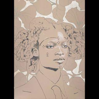 Bloom / 2021 / Acryl and oil on canvas / 100 x 140 cm