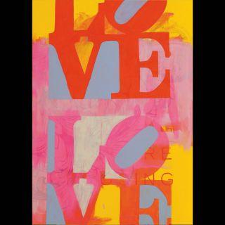 LOVE / 2021 / Acryl on canvas / 111 x 140 cm