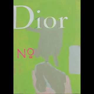 Dior / 2021 / Acryl and oil on canvas / 100 x 140 cm