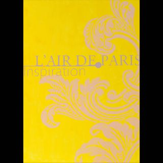 L'Air de Paris / 2016 / Acryl on canvas  / 100 x 140 cm