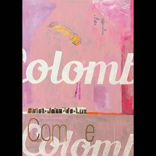 Colomb / 2021 / Acryl and oil on canvas / 100 x 140 cm
