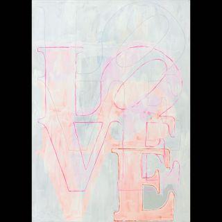 Love 3 / 2021 / Acryl on canvas / 100 x 140 cm