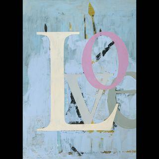 Love 7 / 2021 / Acryl and oil on canvas / 100 x 140 cm
