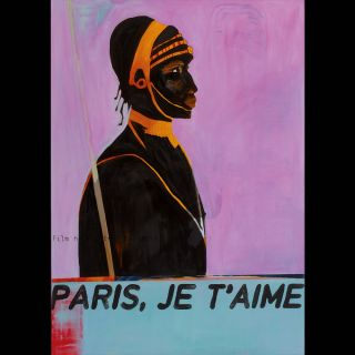 JE T'AIME / 2007 / Oil on canvas / 100 x 140 cm
