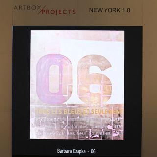 ARTBOX.PROJECT New York 1.0 / 2018