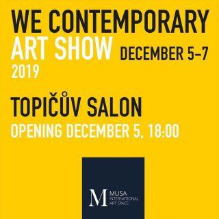 We Contemporary Art Show 2019 Prague