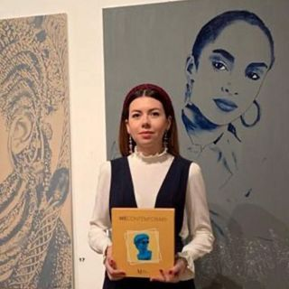 Natalia Gryniuk Pres. of MUSA Int. Art Space